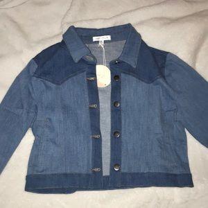 Dolls Kill Jackets & Coats - Sinnin' Stunner Denim Jacket
